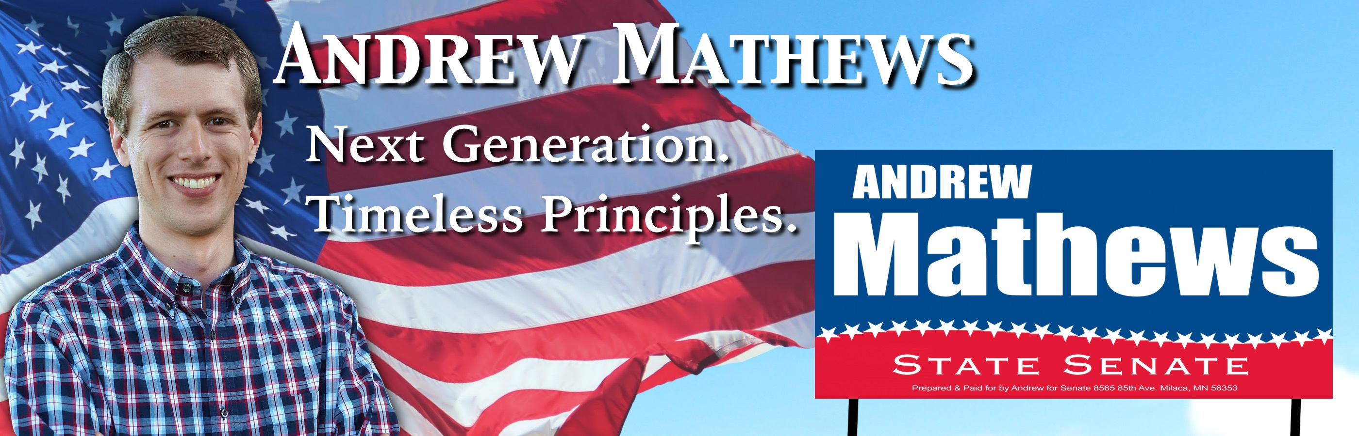 Andrew Mathews for State Senate